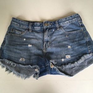 Free People Jean Shorts Size 26